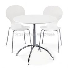 Kimberley Dining Set White Table & 2 White Chairs 1/2 Price Deal